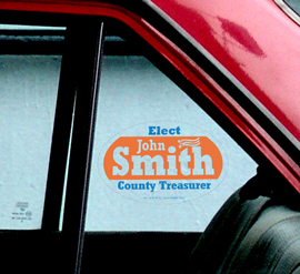 Election Car Advertisement